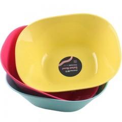 茶花水果盘方形沙拉碗