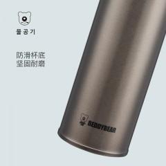 韩国杯具熊正品保温杯时尚男女士真空不锈钢水杯子480ML