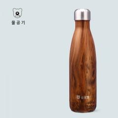 韩国杯具熊保温杯艺术可乐水杯500ML