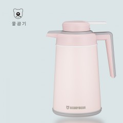 杯具熊 欧式不锈钢家用 保温壶大容量热水瓶保温瓶保温水壶暖壶 1.6L