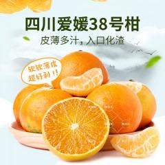 四川爱媛38果冻橙 5斤装大果 9颗-12颗