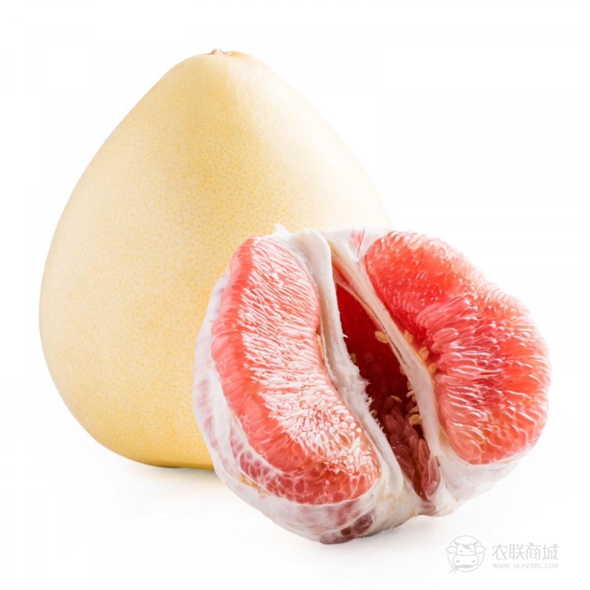 福建平和 琯溪 红心柚子新鲜水果红肉蜜柚5斤 2个装包邮