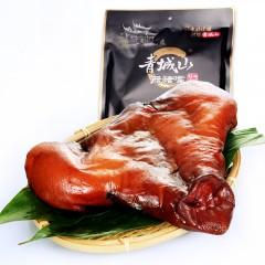 青城山 腊猪嘴400g 四川特产农家风味土猪烟熏腌肉腊猪拱嘴腊肉