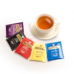 英国Twinings川宁红茶精选装20片 5种口味袋泡茶 五种口味各4片   包邮