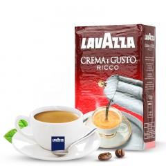 意大利原装乐维萨LAVAZZA里可咖啡粉250g克进口意式纯现磨咖啡粉  重度烘焙  包邮